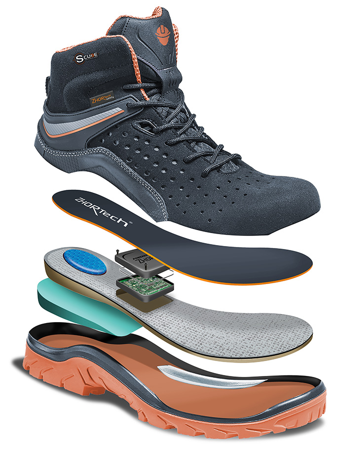 Zhor-Tech smart shoe technology