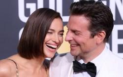 Irina Shayk and Bradley Cooper76th Annual
