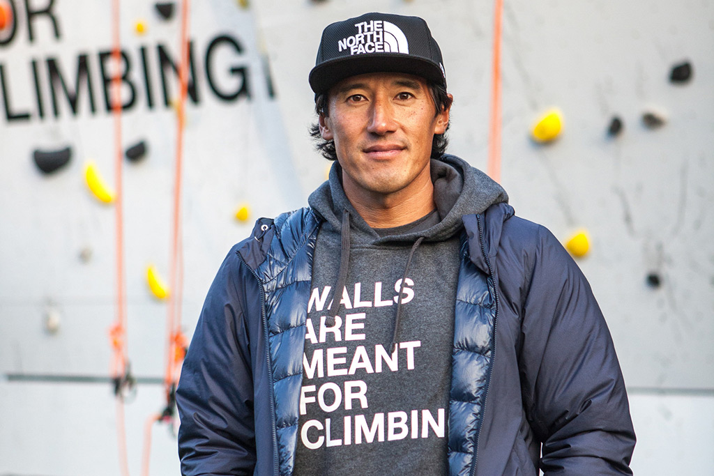 Mountaineer Jimmy Chin The North Face Walls Are Meant for Climbing