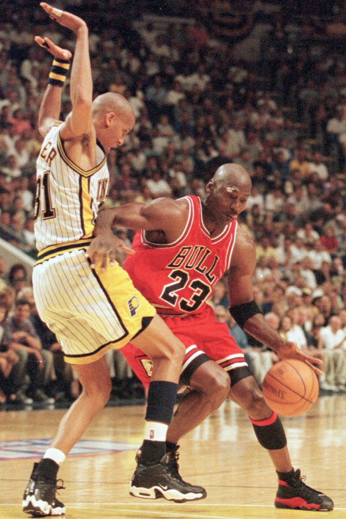 Michael Jordan, eastern conference championshi, nba