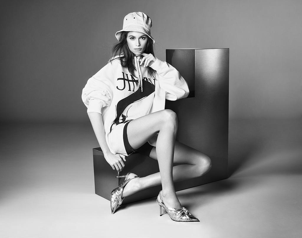 kaia gerber, high heels, jimmy choo, annabell,