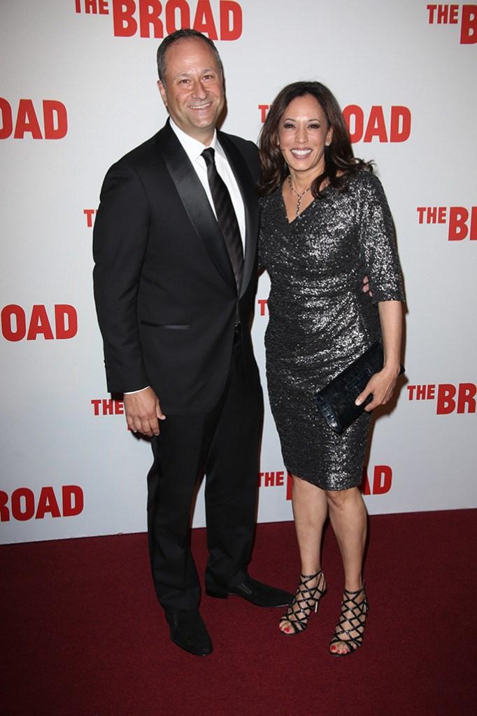 California Attorney General Kamala Harris and husband Douglas EmhoffBroad Museum Opening, Los Angeles, America - 17 Sep 2015