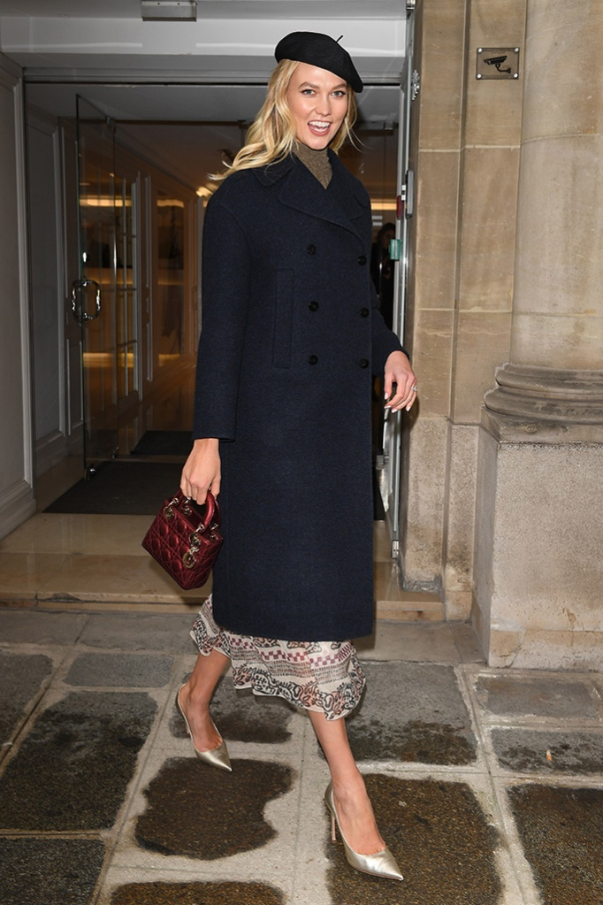 Karlie Kloss at the Dior Store, L'AvenueKarlie Kloss out and about, Paris Fashion Week Men's, France - 19 Jan 2019