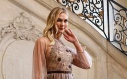 Karlie Kloss at Christian Dior Haute