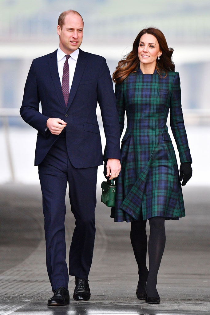 Kate Middleton, Scotland, Dundee, Victoria and Albert Museum, january 2019, alexander mcqueen, celebrity style, royal