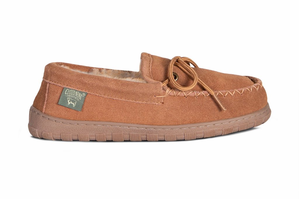 Cloud Nine Sheepskin Moccasin, slippers with arch support