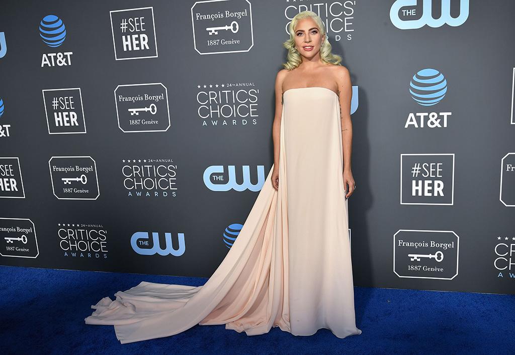 Lady Gaga, 24th Annual Critics' Choice Awards, Arrivals, Barker Hanger, Los Angeles, USA - 13 Jan 2019
