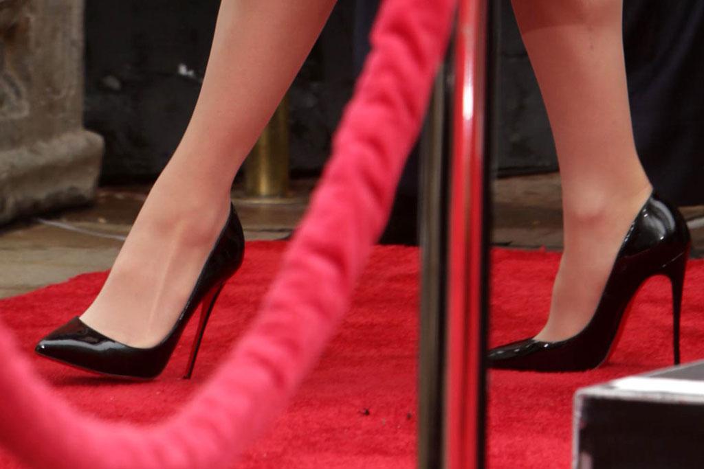 lady gaga, high heels, stilettos, christian louboutin