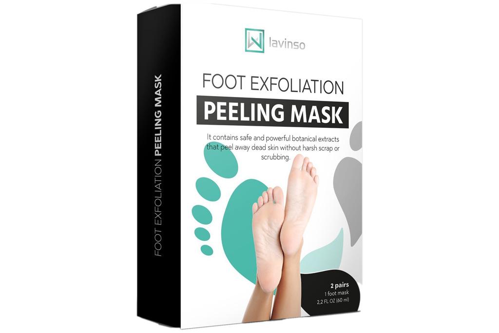 lavinso, foot peel mask