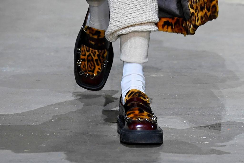 leopard print, marni, fall 2019, milan fashion week