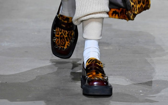 leopard print, marni, fall 2019, milan fashion week