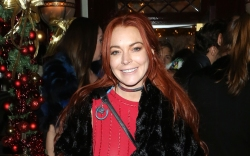 lindsay lohan, party style
