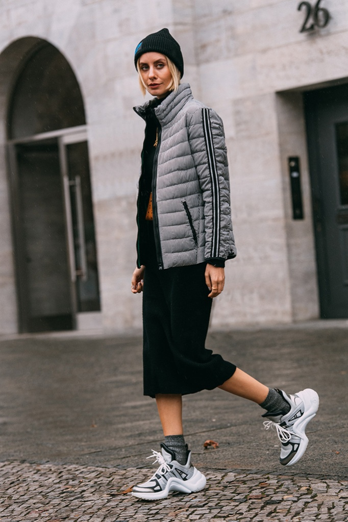 louis vuitton archlight, berlin fashion week, street style