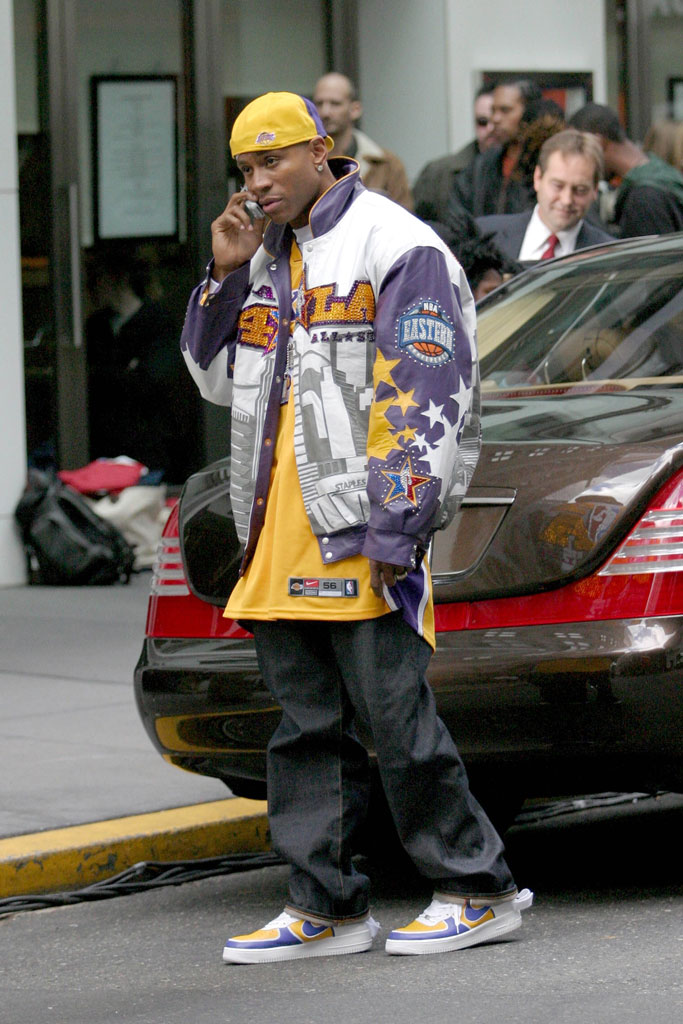 ll cool j, music video, lakers, new york, 2003