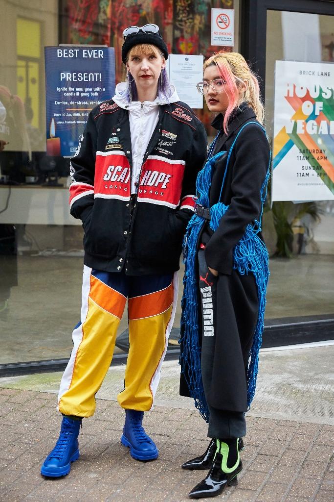 London Fashion Week Men's, Street Style, lfw