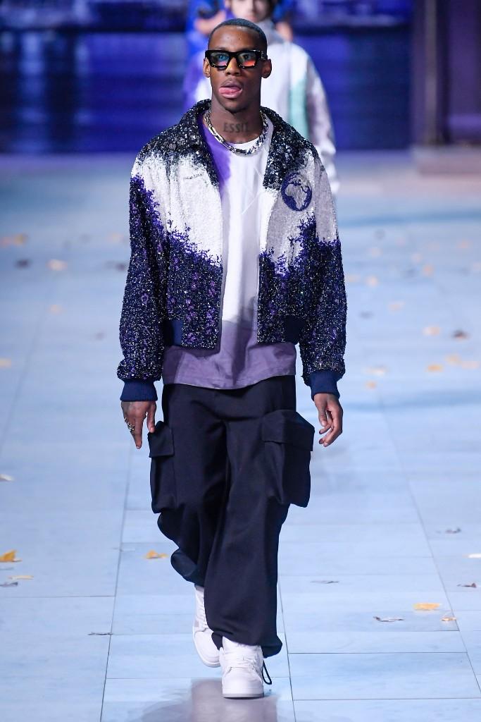 Octavian, Louis Vuitton, fall 2019, runway, men's, paris fashion week