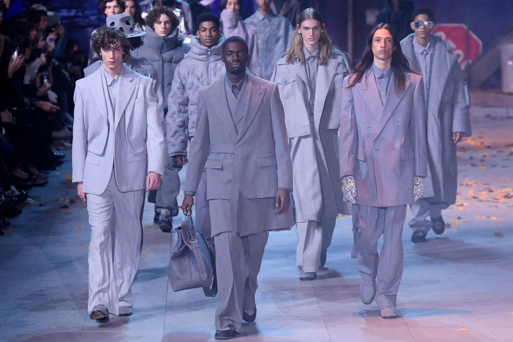 Louis Vuitton, men's, fall 2019, runway, paris fashion week