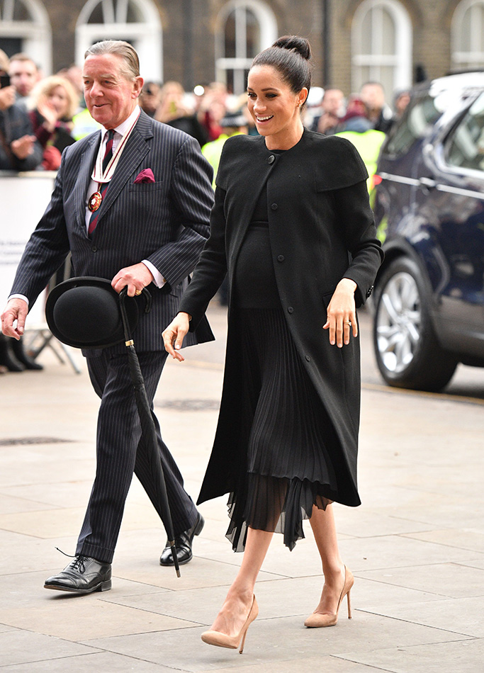 Meghan Duchess of SussexMeghan Duchess of Sussex visit to the Association of Commonwealth Universities, London, UK - 31 Jan 2019Wearing Givenchy Worn Before