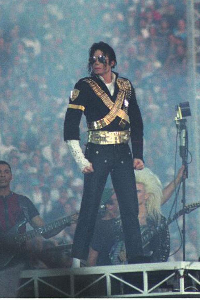 Michael Jackson, 1993 super bowl