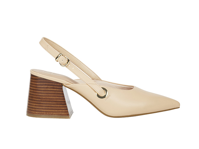 M&S Collection Statement Heel Pointed Slingback Shoes