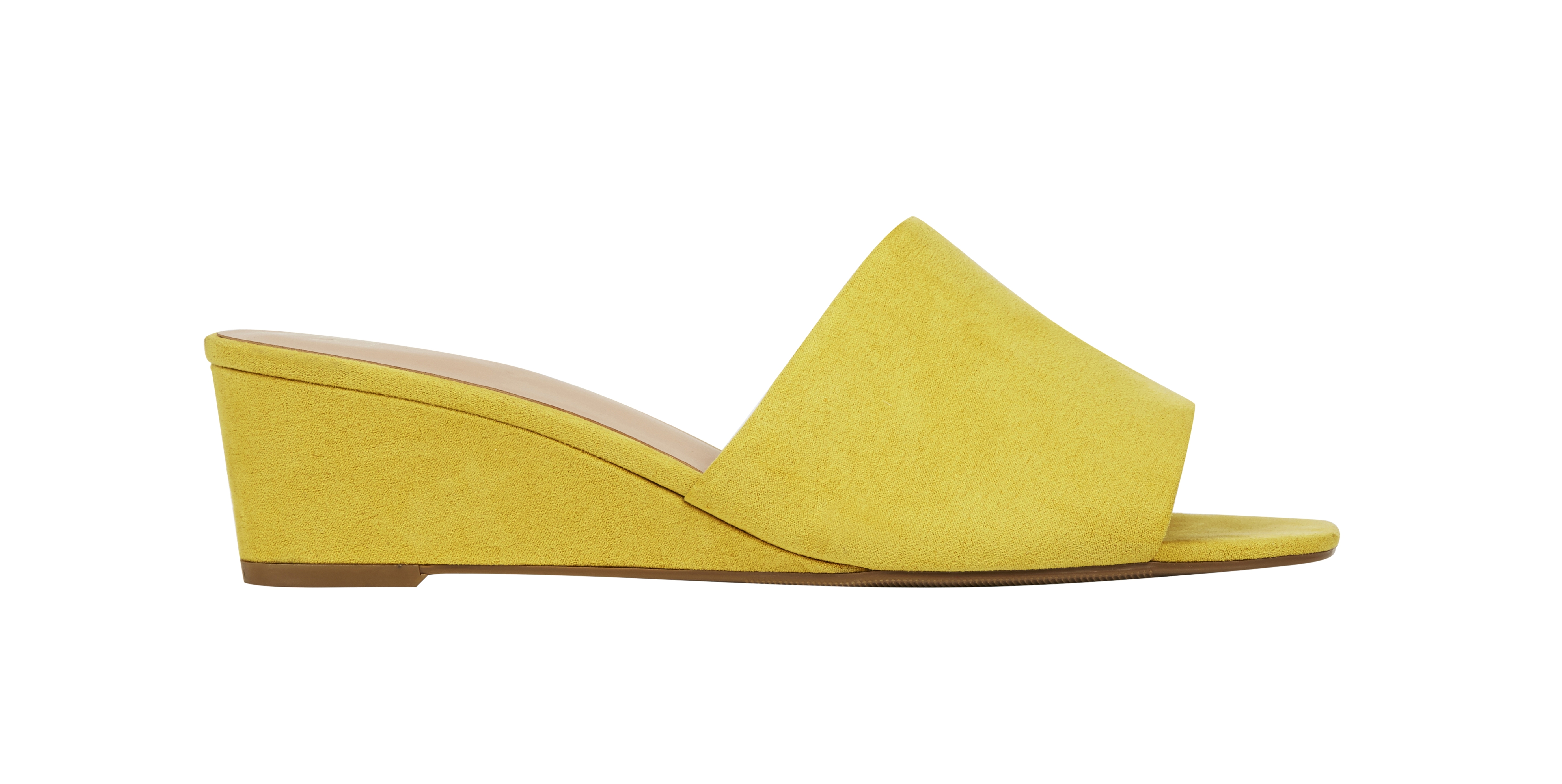M&S Collection Wedge Heel Mule Shoes