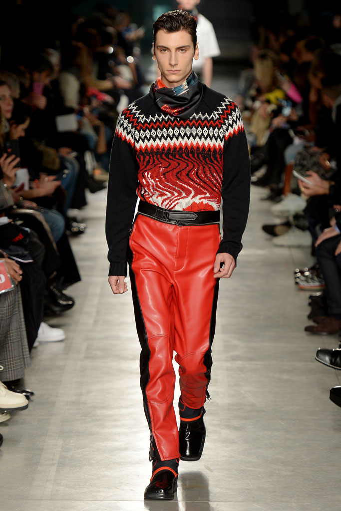 msgm, square-toed boots, milan fashion week, pitto uomo