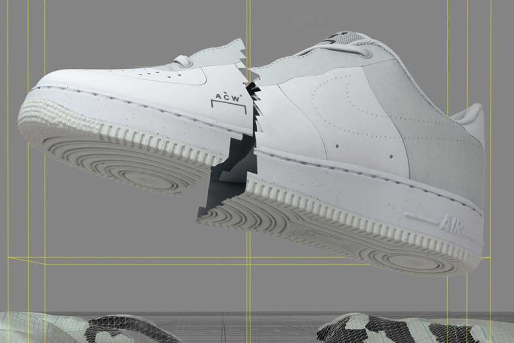 A-Cold-Wall* x Nike Air Force 1