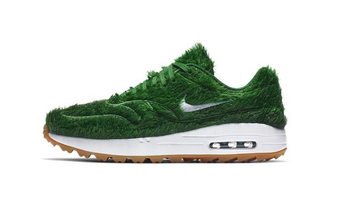 Nike Air Max 1 Golf shoe in Grass Camo.