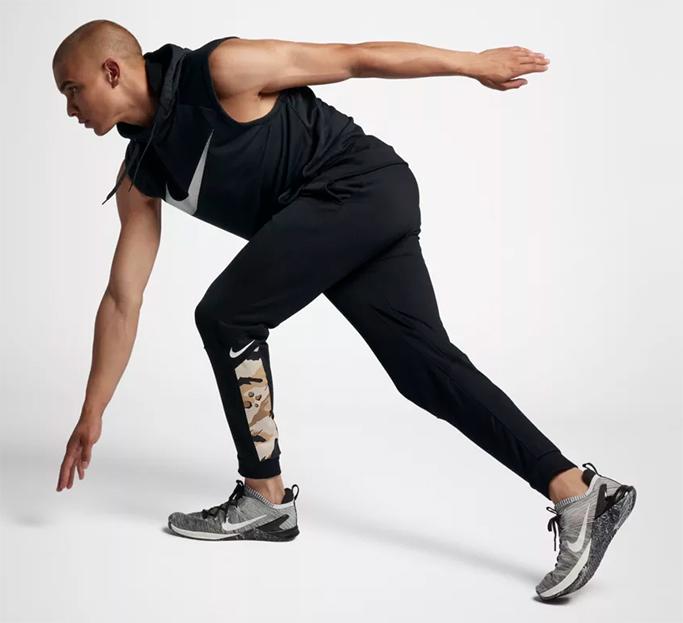 Nike Dri-Fit Tapered Camo Training Pants