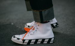 off-white x converse sneakers