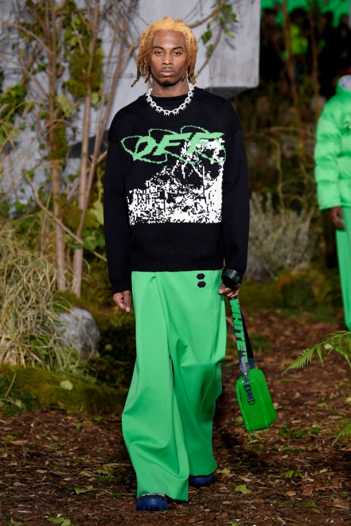 playboi carti, off-white, paris men's fashion week