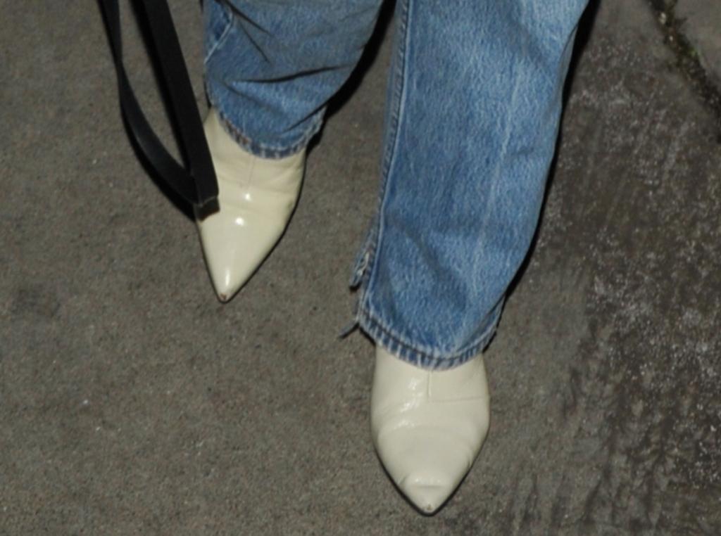 olivia munn street style, boots