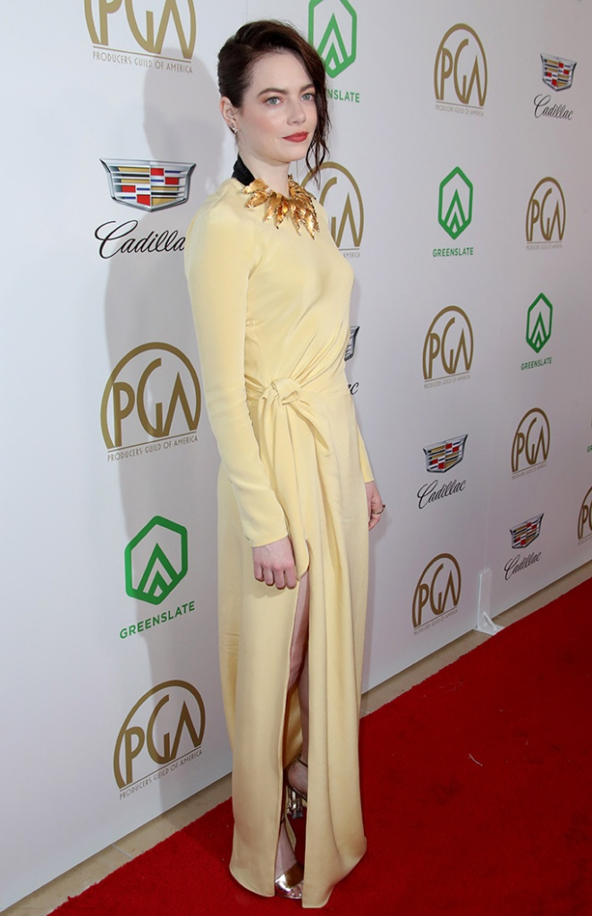 Emma Stone30th Annual Producers Guild Awards, Los Angeles, USA - 19 Jan 2019