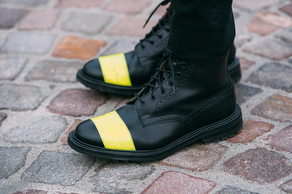 Pitti Uomo street style shoes