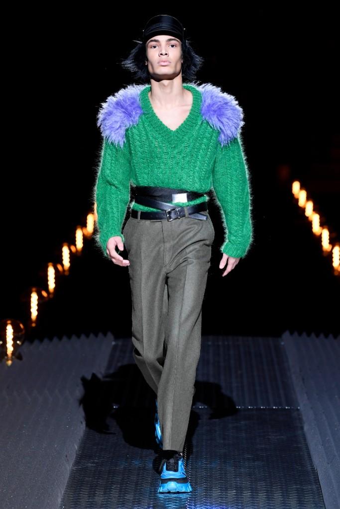 Prada fall 2019 Milan Fashion Week Men's