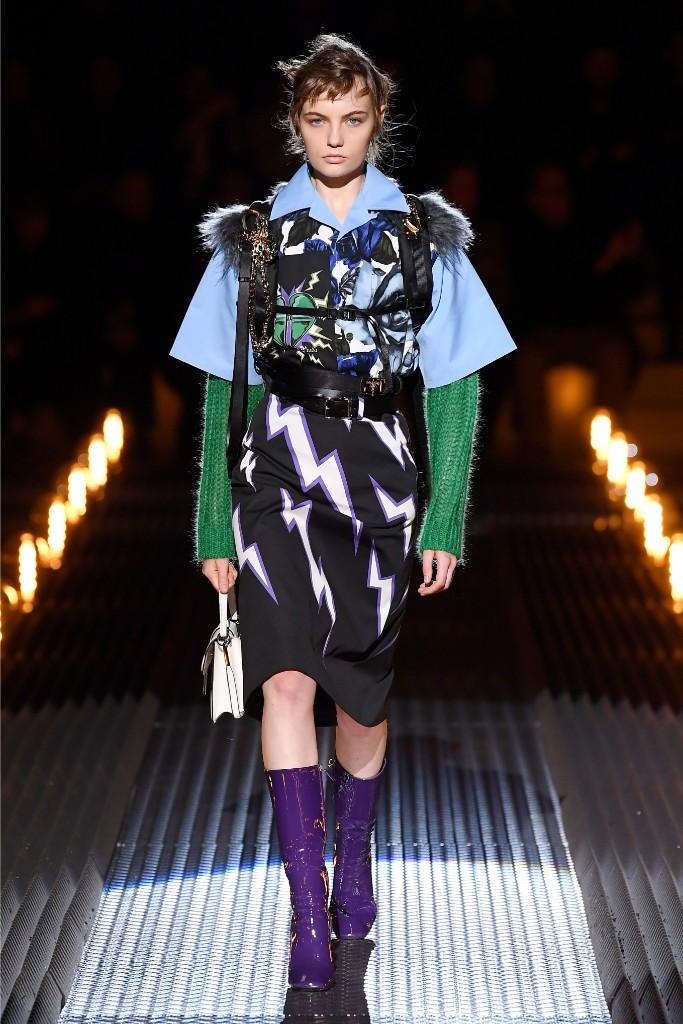 prada fall 2019 men's collection, milan fashion week men's