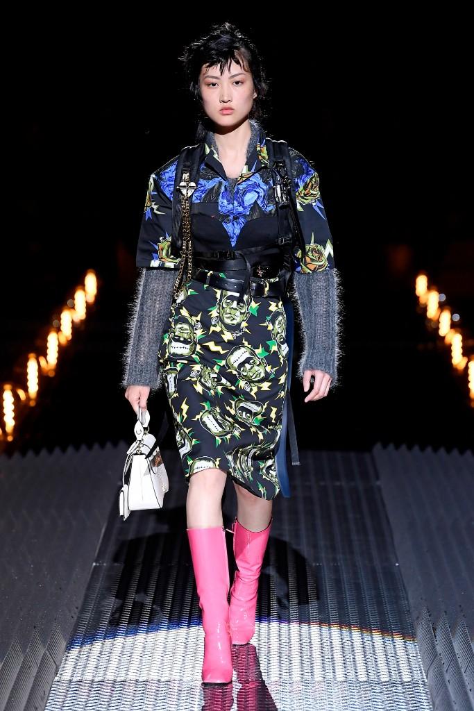 Prada fall 2019 Milan Fashion Week Men