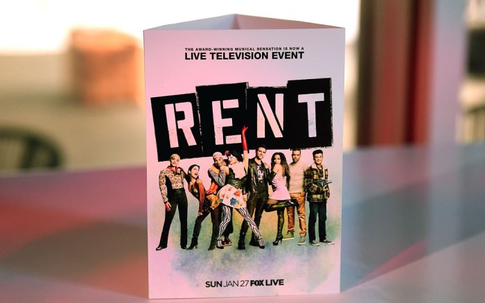 rent live, cast, vanessa hudgens, tinashe, kiersey clemons