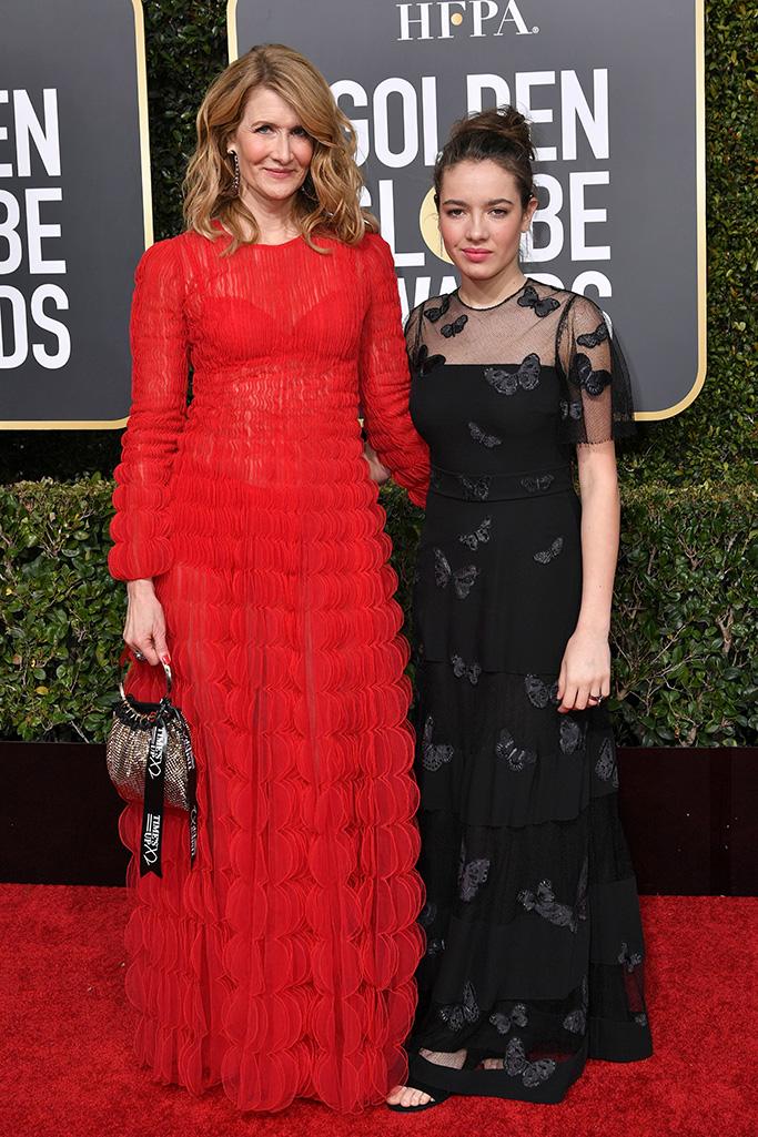 Laura Dern and Jaya Harper 76th Annual Golden Globe Awards, Arrivals, Los Angeles, USA - 06 Jan 2019