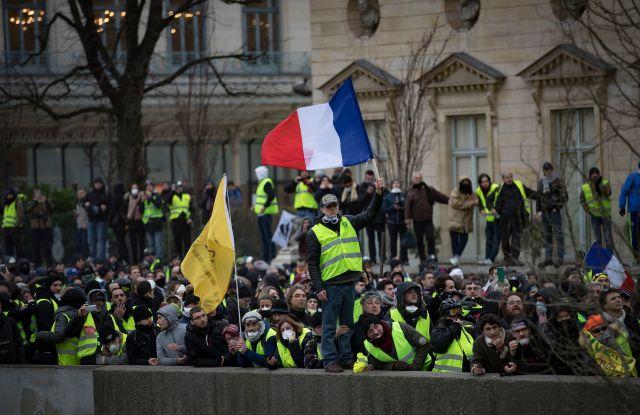 Paris, protesters, France