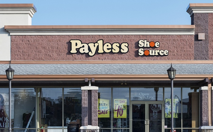 Payless Shoe Source store, Mount Laurel, New Jersey, USAVarious, America