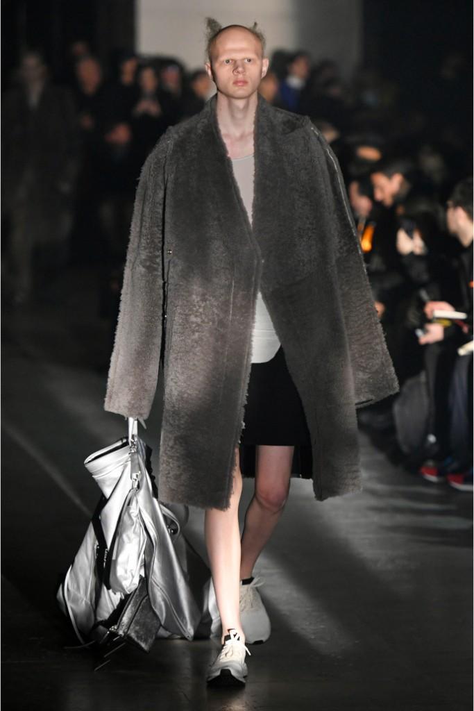 rick owens, fall 2019, menswear, ready-to-wear, paris fashion week men's