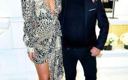 Rita Ora for Giuseppe Zanotti Collab Launch