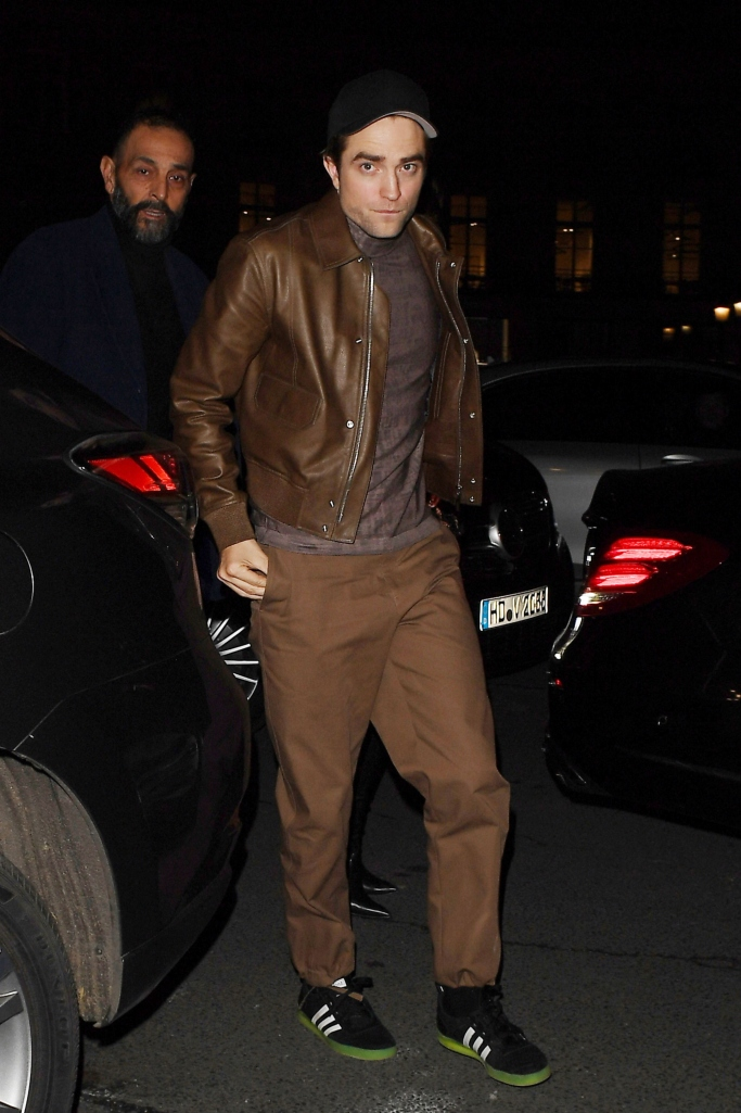 Robert Pattinson wearing Adidas sneakers