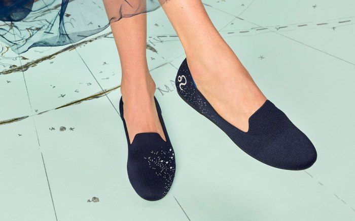 Rothy's limited-edition Leo flats
