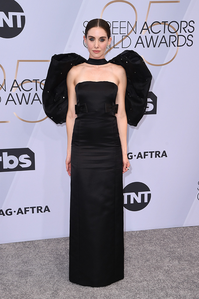 Alison Brie, 25th Annual Screen Actors Guild Awards, Arrivals, Los Angeles, USA - 27 Jan 2019