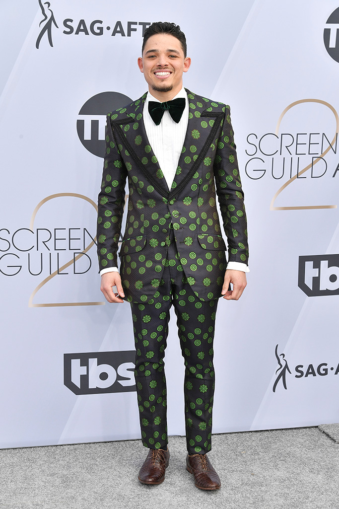 Anthony Ramos, 25th Annual Screen Actors Guild Awards, Arrivals, Los Angeles, USA - 27 Jan 2019