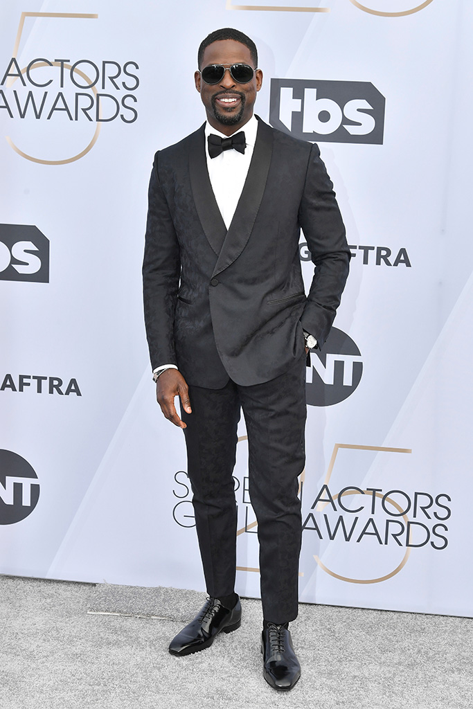 Sterling K. Brown25th Annual Screen Actors Guild Awards, Arrivals, Los Angeles, USA - 27 Jan 2019