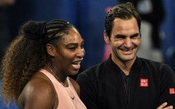 serena williams, roger federer, hopman cup