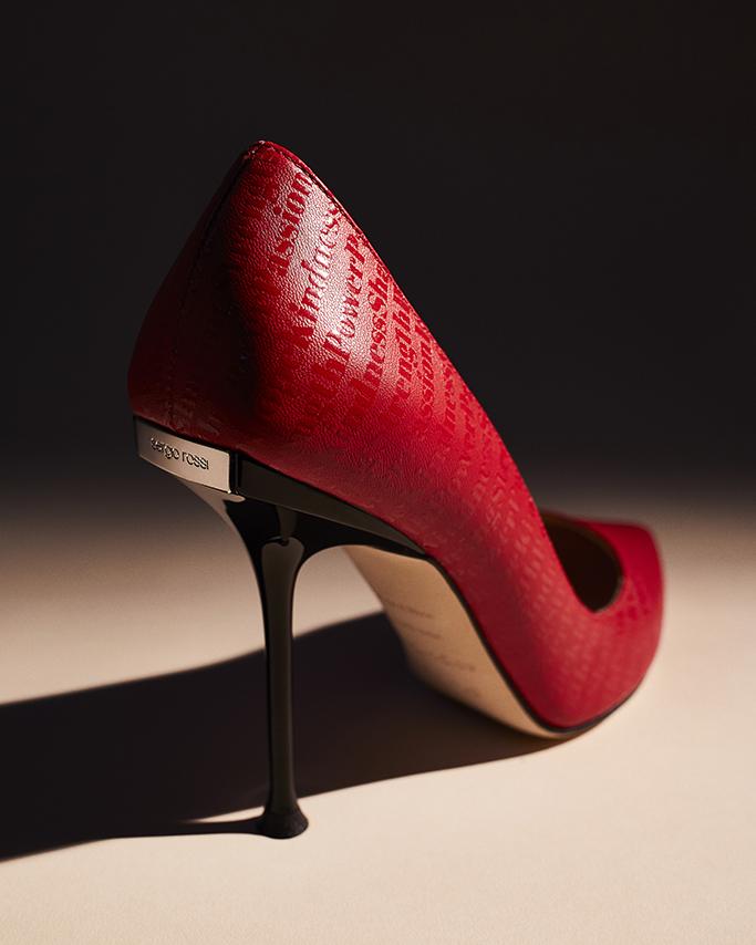 Elizabeth Stewart x Sergio Rossi, sandal, times up